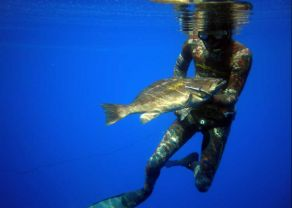 Spearfishing Corfu