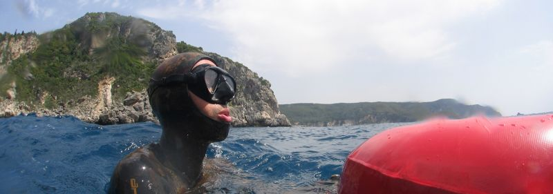 Freediving Corfu